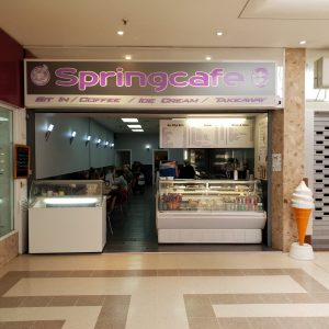 Springcafe now open Sundays